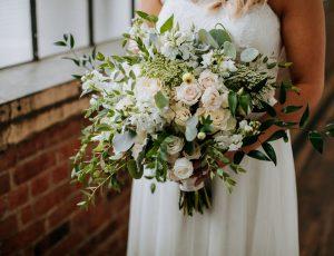 Damselfly Wedding Bouquet