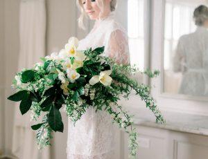 Wedding Bouquet Damselfly Designs